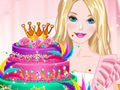 Barbies Diamond Cake